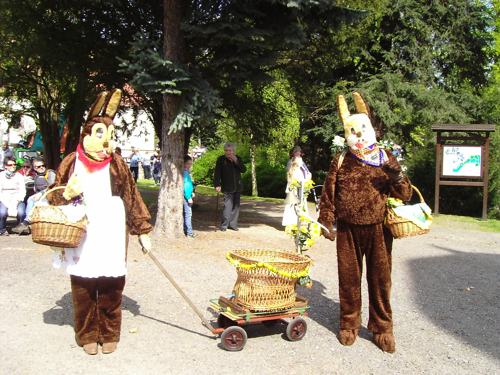 Ostern auf Schloss Schönfeld