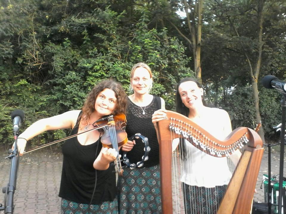 Julia Lehne-keltische Klänge mit der Band Angels Share