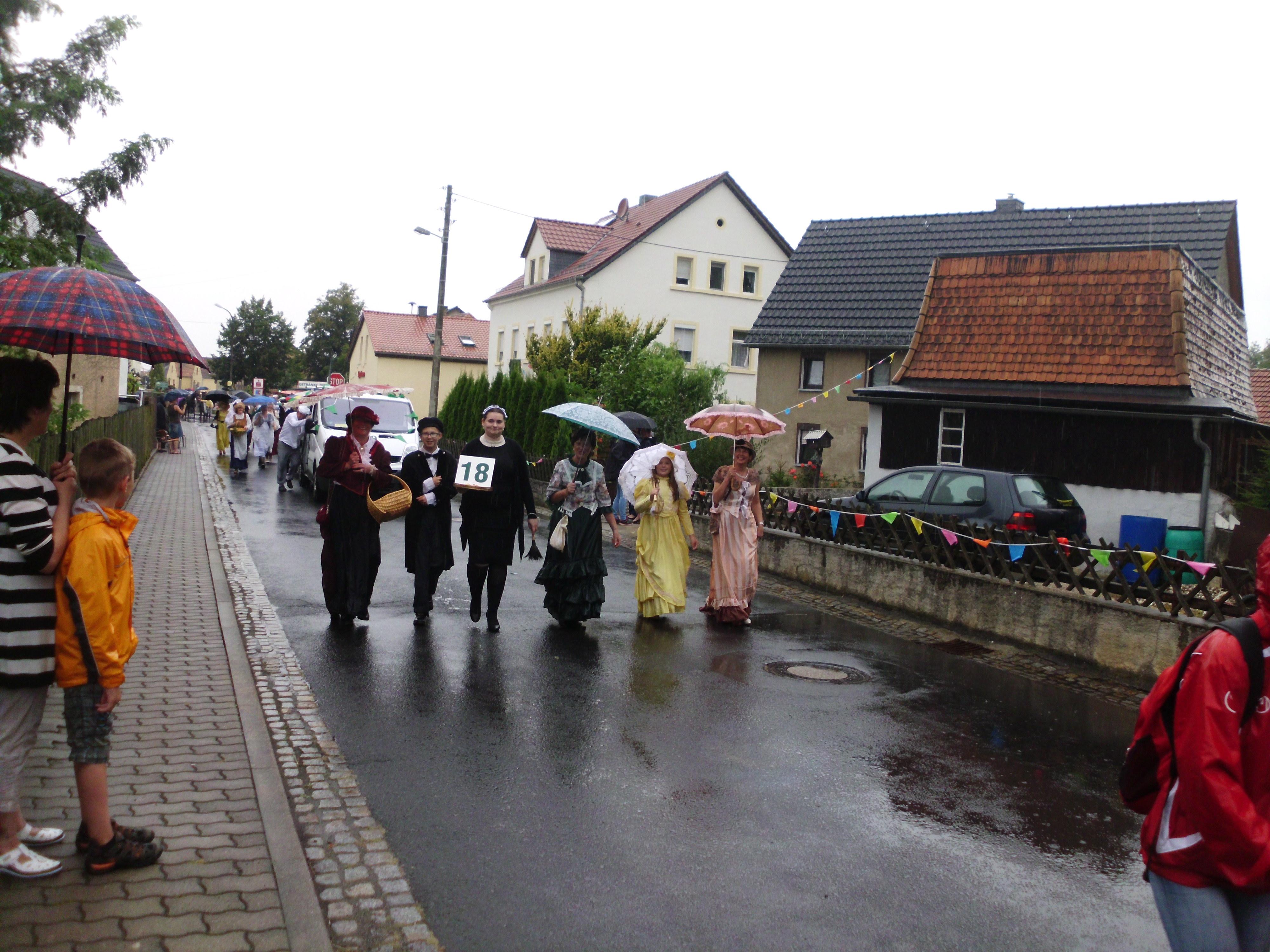 Programm zur Festwoche 800 Jahre Schönfeld
