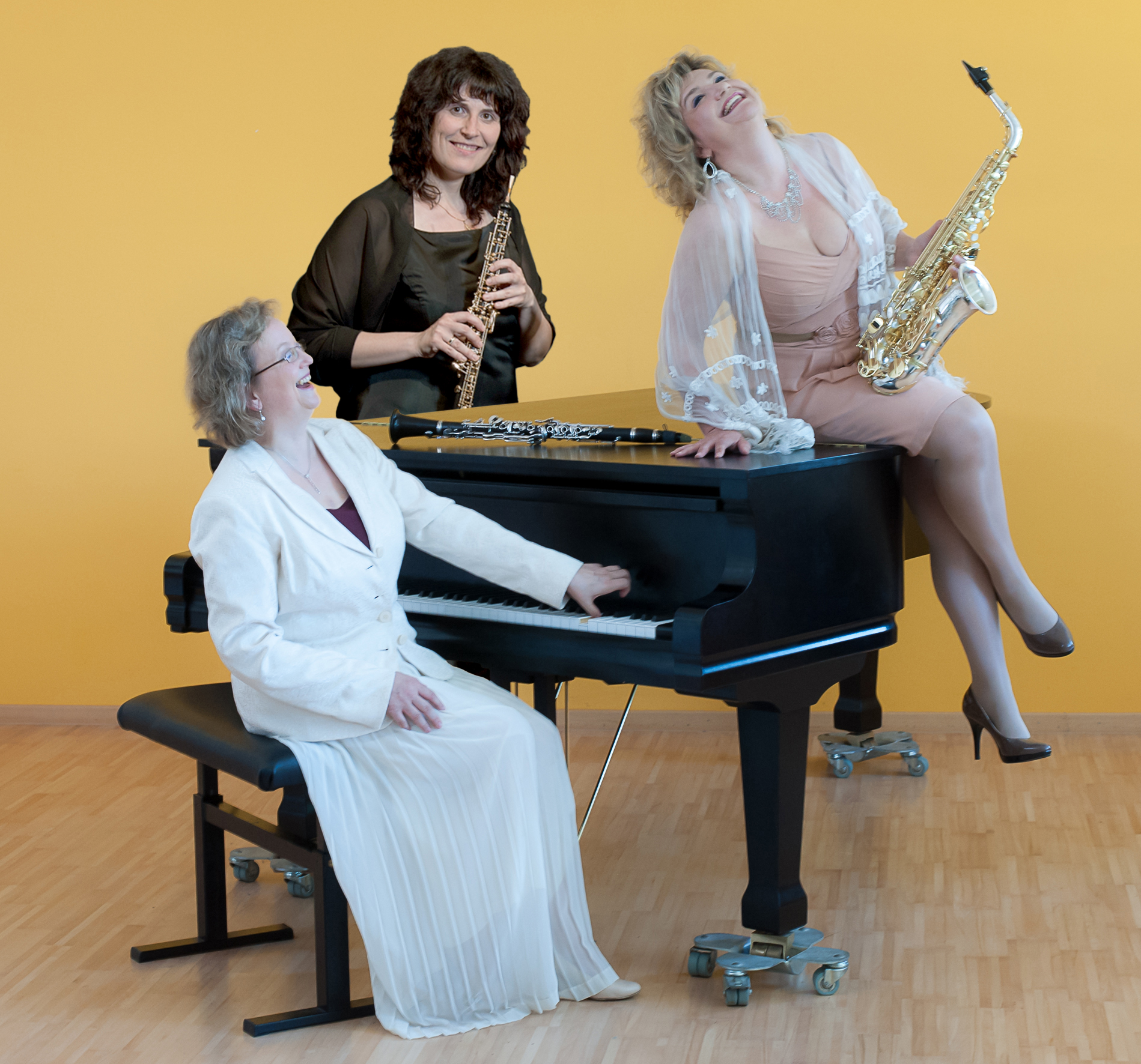 Kammermusik für besondere Anlässe mit dem Trio Amour pour bois