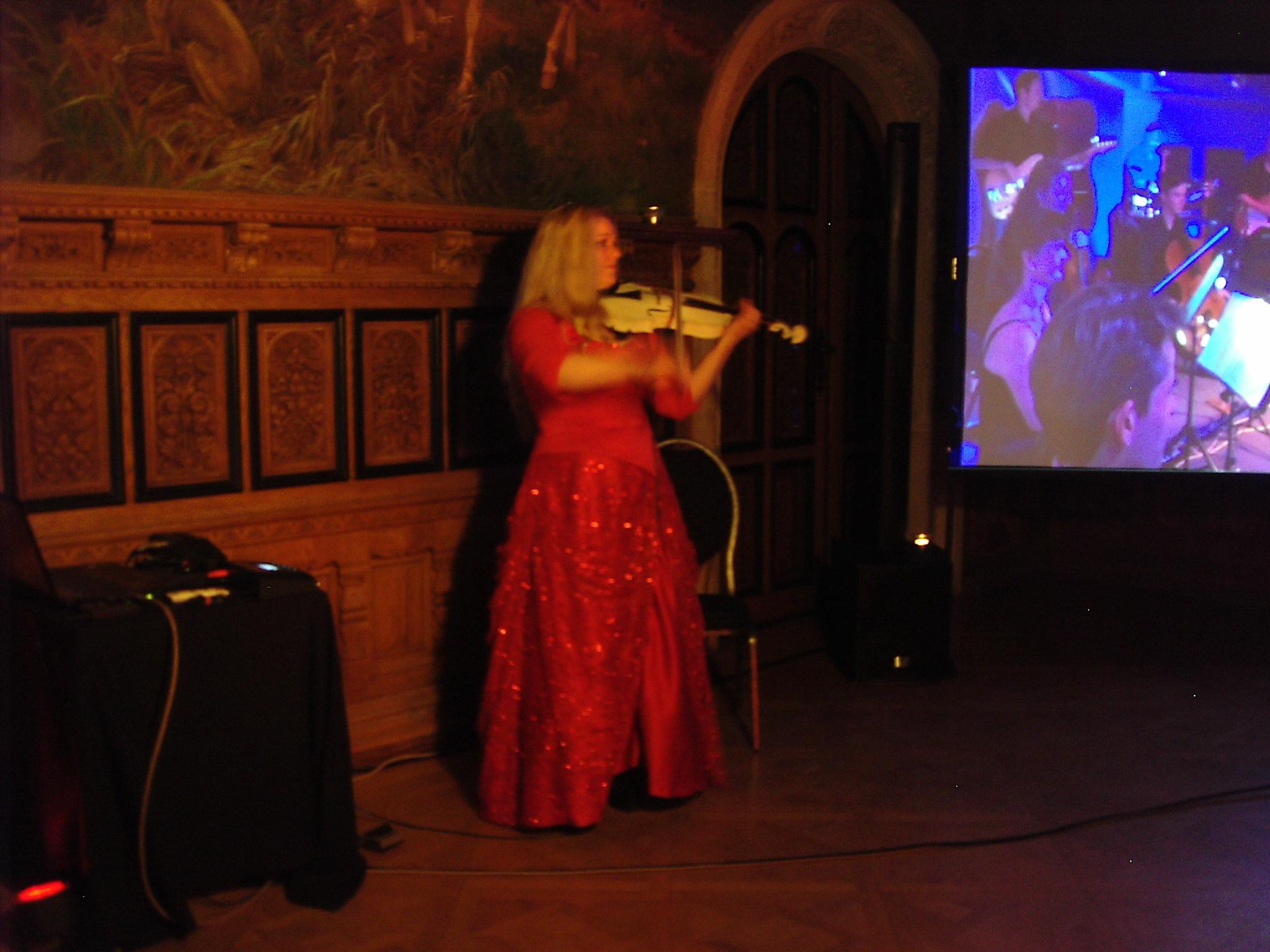 Geigenkonzert mit Katrin Wettin
