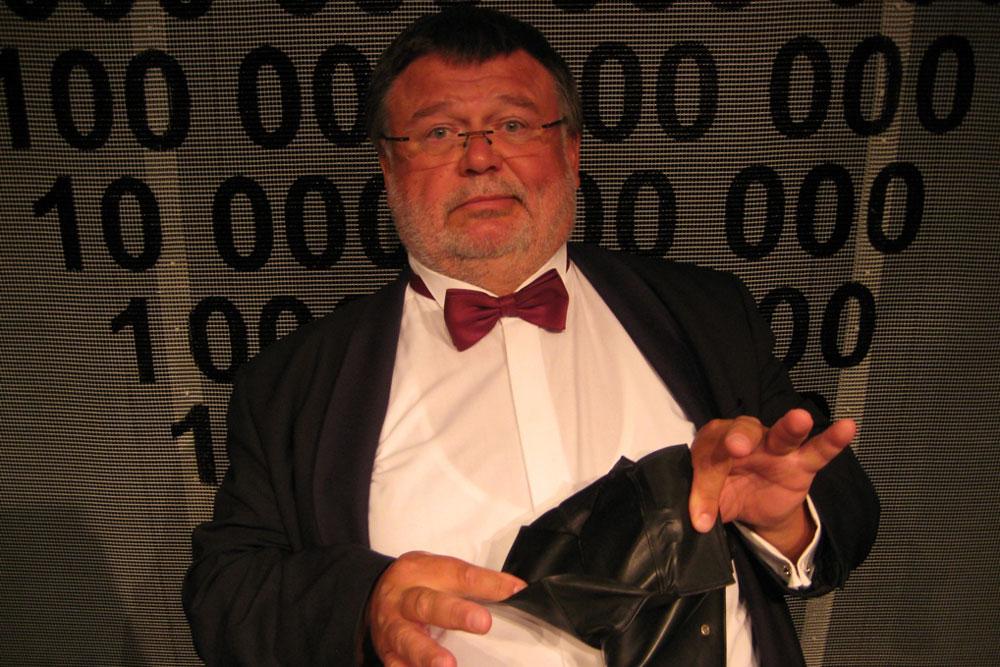 Kabarett mit  Manfred Breschke